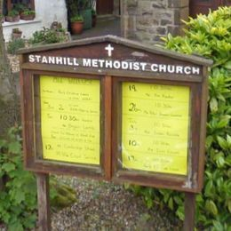 Stanhill Methodist Church sign